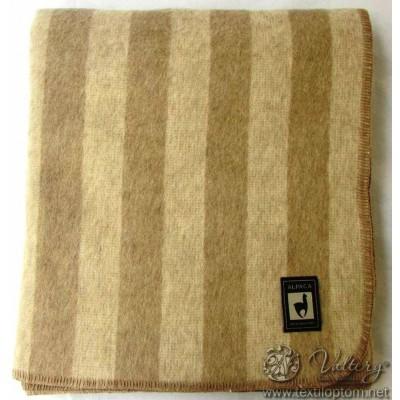 Одеяло INCALPACA (46% шерсть альпака, 33% шерсть мериноса,15% хлопок) OA-1