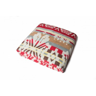 Одеяло Хлопок100% арт.37-15 (красные лубны)