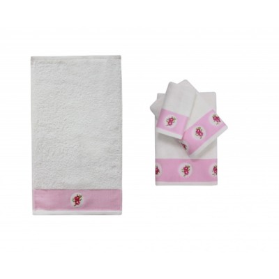 Полотенце банное ROSSO Pink (розовый)