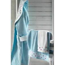 Полотенце банное ATTACCO Turquoise (бирюзовый)