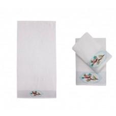 Полотенце банное ALTRUİSTİCO White (белый)
